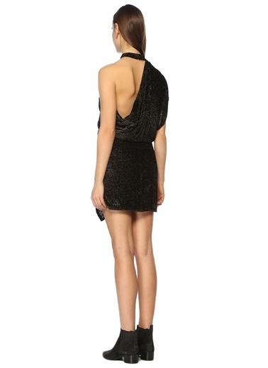 IRO Mini Abiye Elbise Siyah